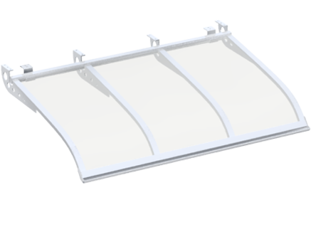 Shelter White Aluminium Ceiling Attack Various Sizes And
