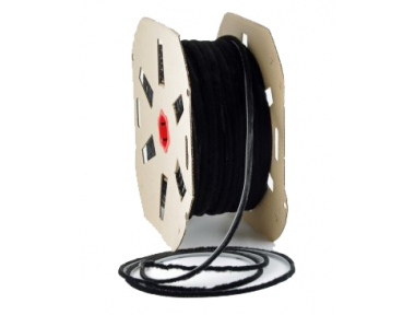 Brush seal Schlegel Polybond 6,9x5mm Without Fin Black Roll 375m