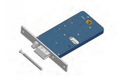 Latch with flow Omec Exclusion flow lock Aluminium Range Electric