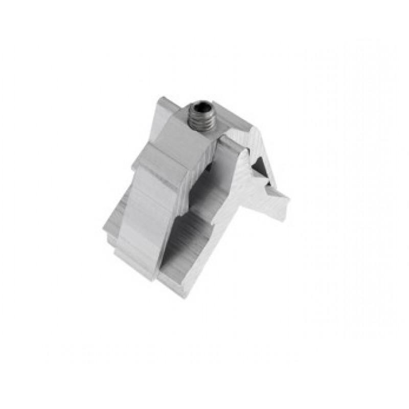 Screw bracket to aluminum Alutec