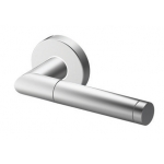 Handle Tropex Edinburgh in Satin Stainless Steel Rosette Round or Oval