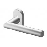 Handle Tropex Toledo in Satin Stainless Steel Rosette Round or Oval