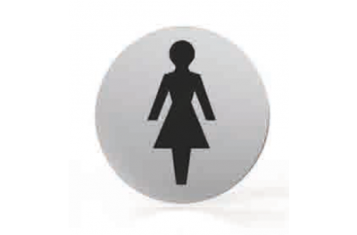 Pictogram for nozzle Round Bathroom Toilet Women Tropex