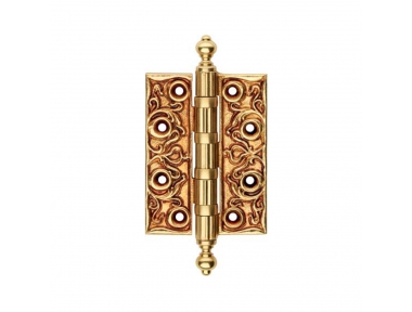 1270 CE Luxury Hinge for Wooden Door Linea Calì with Baroque Decorations Made in Italy