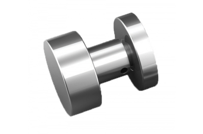 Plan knob stainless steel Tropex