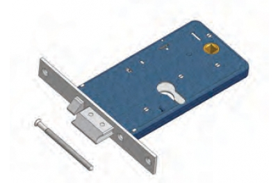 Latch with flow Omec electric lock in range for Aluminum