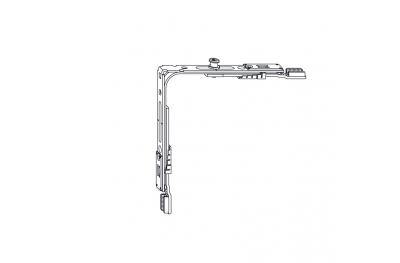 Siegenia Corner Drive Titan Hardware AF VSO 140X140 1RS