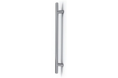 Frankfurt Stainless Steel Pull Handle Tropex Ø30 Bevel Supports