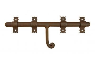1890 Galbusera Horizontal Bolt Wrought Iron Different Size