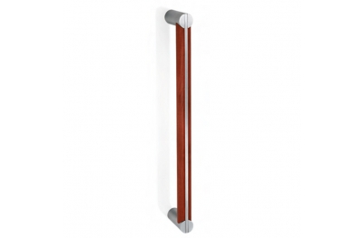 200.YOD.301 pba Pull Handle Wood and Stainless Steel AISI 316L