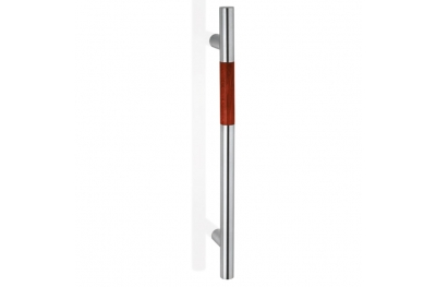 200.YOD.401 pba Pull Handle Wood and Stainless Steel AISI 316L