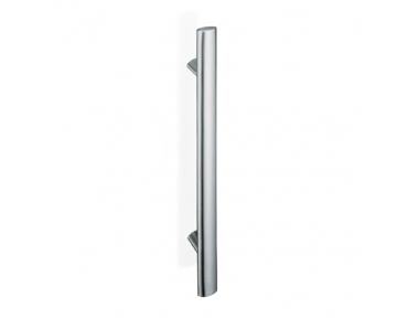200E-011 pba Tubular Elliptical Pull Handle in Stainless Steel AISI 316L