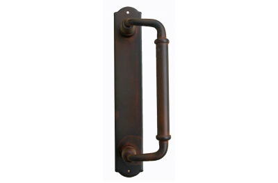 2014 Curved Galbusera Pull Handle Wrought Iron