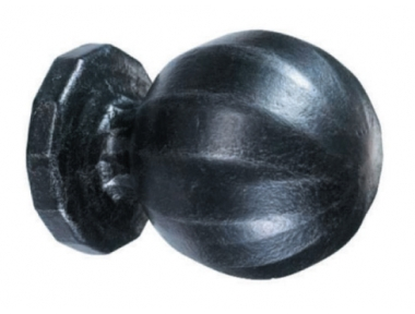 2081 Ø50 Door Knob Wrought Iron