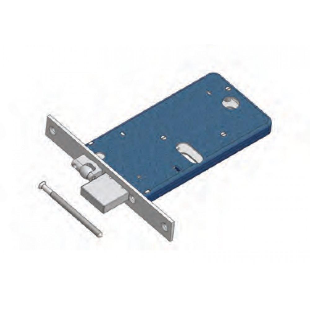 Adjustable roller and deadbolt Omec Art. 775 / F22