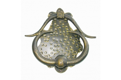 2266 Wrought Iron Knocker for Doors Lorenz Ferart