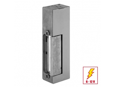 24KL Electric Strike Door Permanent Release with Plate Short Flat effeff