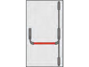 Handle Panic Omec Composition Doors door Two or Three Points Closing