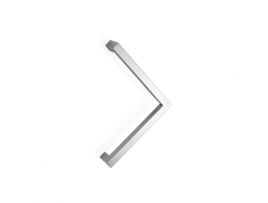 2CQ.300 pba Pull Handle in Stainless Steel AISI 316L with Square Profile