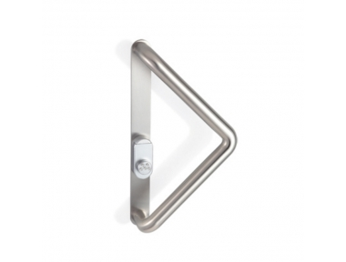 2CT.251.0035.44 Pull Handle with Security Shield and Cylinder Protection