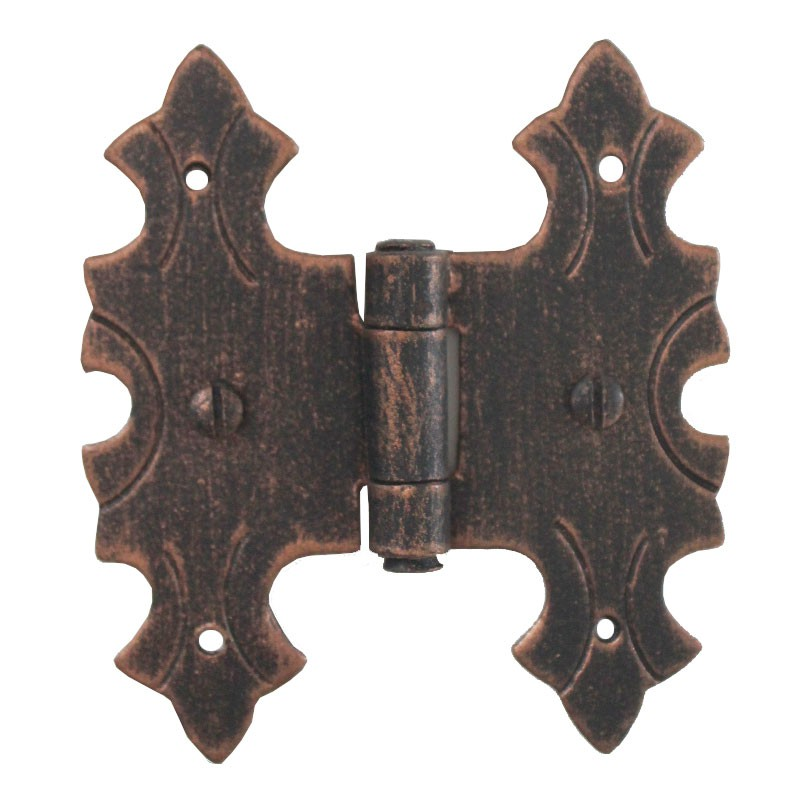 3071 Wrought Iron Double Hinge for Furniture Lorenz Ferart