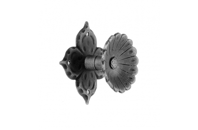 307 Door Knob Ø60 Diameter Artistic Wrought Iron