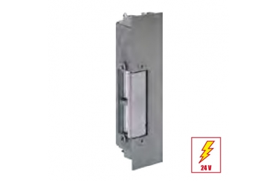 34RRKL Electric Strike Door Permanent Release with Plate Short Flat effeff