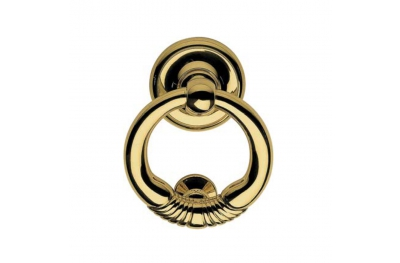 369 BA Margherita Door Knocker Calì Line Round Elegant Finish