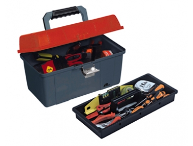 451 Plano Toolbox with Metal Closures Contractor Line Tool Carrying System