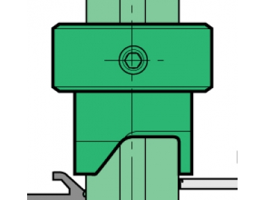 Lamatore Proni Rapid-Block Door Aluminium and PVC