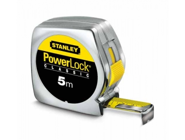 Stanley Powerlock Tape Tool Case Material Synthetic 5m