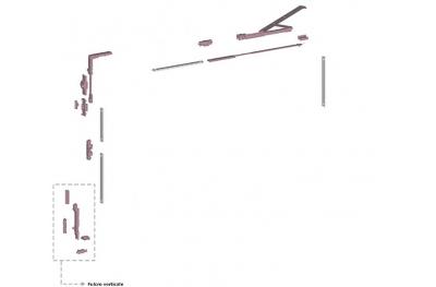 Ribantatre Savio Base Group R Standard Arm Pivot Vertical