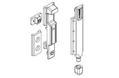 Giesse bolt Giap Futura European Chamber Silver Plus