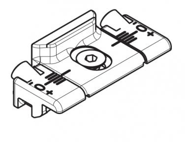 Giesse meeting Adjustable Single Series R Silver Plus