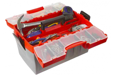 911 Plano Toolbox with Incorporated Small Parts Organizer Design Line