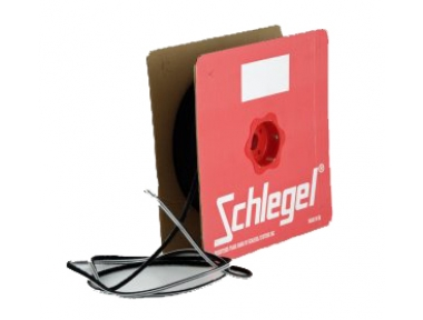 Seal Schlegel Brush Polybond 4,8x11mm Without Fin Roll 200m Black