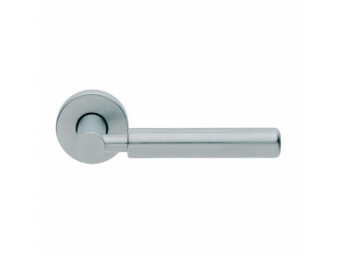 Amleto Design Manital Satin Chrome Pair of Door Lever Handles