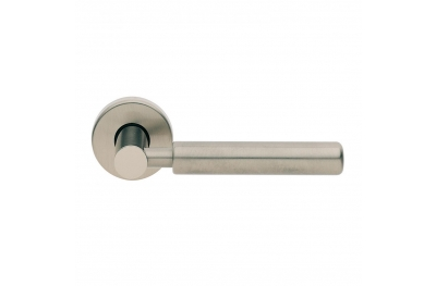 Amleto Design Manital Satin Nickel Pair of Door Lever Handles
