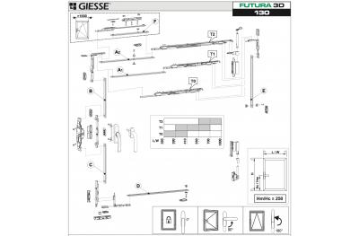Anta Ribalta 3D Futura for Hammer Basic configuration Giesse