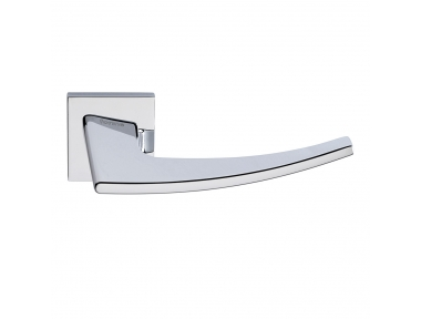 Antares Series Fashion forme Door Handle on Square Rosette Frosio Bortolo Modern Design