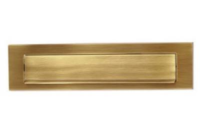 Brass Post Plate Liscia PFS Pasini