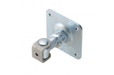 Adjustable U-Bolt Hinge with Plate Swing Gate Combiarialdo