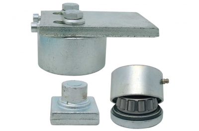 Ball Bearing Hinge for Gates Regulation Through Screw Ø70 IBFM