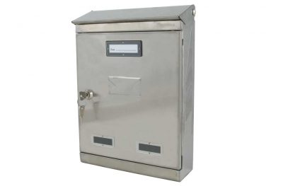 Mail Box Stainless Steel h.370mm IBFM