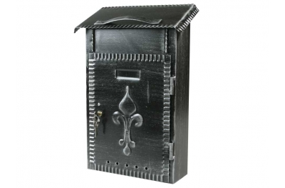 Wrought Iron Mail Box Large Size for Magazines IBFM