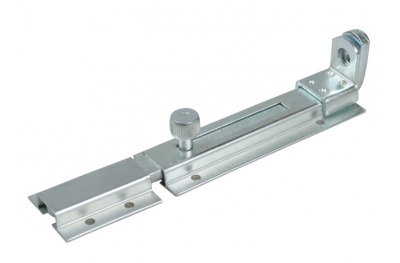 Covered Cross Bolt for Padlocks with Staple Galvanized Steel IBFM