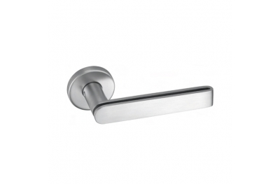 pba 2MM.015.00T8 Pair of Lever Handles in Stainless Steel AISI 316L