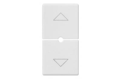 2 Half Buttons 1 Module Arrows Symbol 14755 Plana Vimar