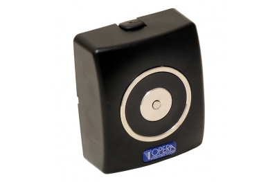 Hold Open Electromagnet Black without Push Button Release 19000 Opera
