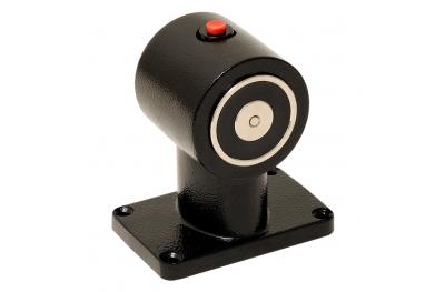 Hold Open Electromagnet Black Floor Mount Version for Fire Doors 18005 Opera